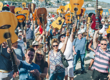 guitars on the beach lyme regis