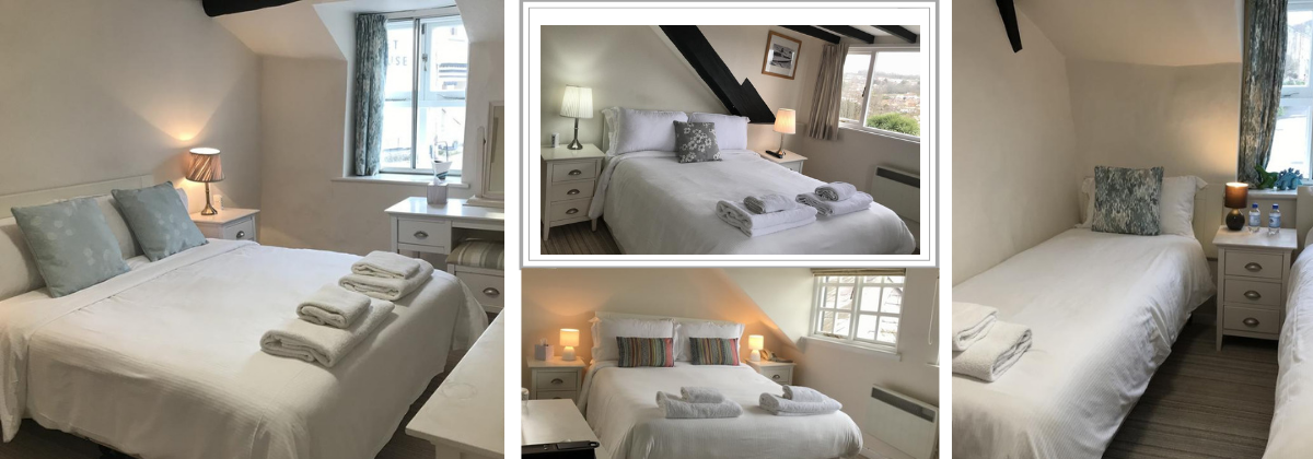 Rooms at The Mariners Hotel Lyme Regis