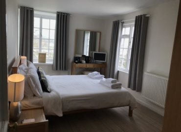 a sea view room at the mariners hotel lyme regis